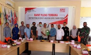 Panwaslih Aceh Tamiang Awasi Rapat Pleno DPB Akhir Tahun 2020