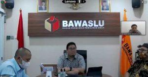 Daring, Komisioner Panwaslih Aceh Tamiang Ikut Rakor Penyelesaian Sengketa