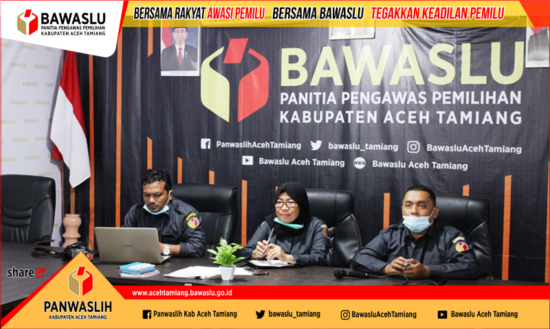Rapat Konsolidasi, Panwaslih Aceh Ingatkan Jajaran Tidak Abai Dalam Tugas